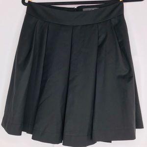 Twenty One | Black Pleated Skirt